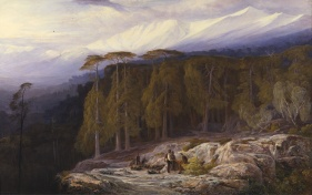 Edward_Lear_-_The_Forest_of_Valdoniello,_Corsica_-_Google_Art_Project