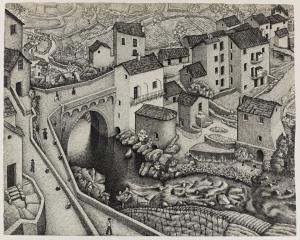 0272138, Maurits Cornelis Escher, Corte Corsica